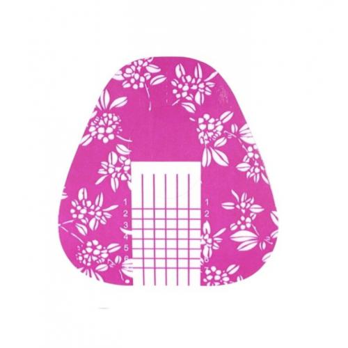 "Šablonai ""Flowers Pink"""